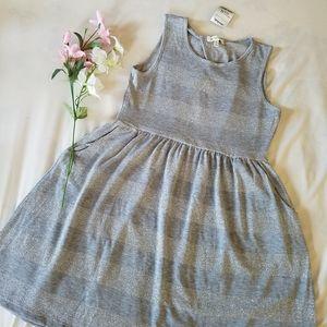 Sparkly Striped Dress